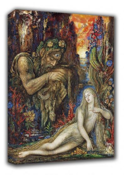 Moreau, Gustave: Galatea. Fine Art Canvas. Sizes: A3/A2/A1 (00524)